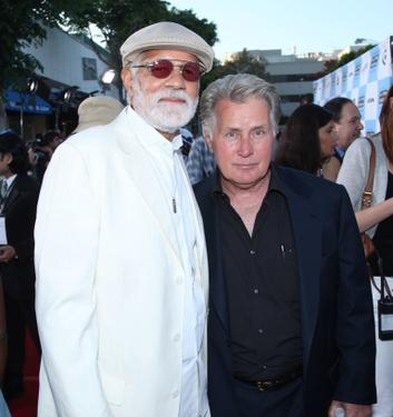 "Martin Sheen and Dewey Hughes at the Los Angeles Film Festival opening night screening of the film ""Talk to Me""."