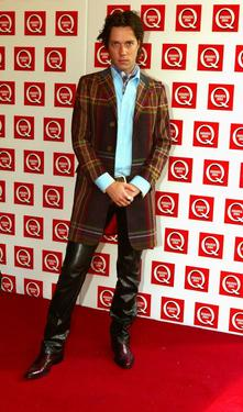 Rufus Wainwright at the Q Awards 2004.