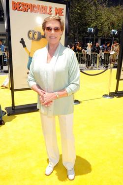 "Julie Andrews at the California premiere of ""Despicable Me."""