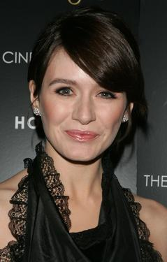 "Emily Mortimer at the special screening of ""Match Point."""