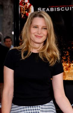 "Bridget Fonda at the California world premiere of ""Seabiscuit""."