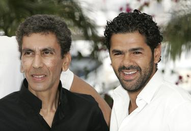 "Rachid Bouchareb and Jamel Debbouze at the photocall of ""Indigenes"" during the 59th International Cannes Film Festival."