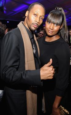 "RZA and Talani at the after-party of the world premiere of ""American Gangster."""