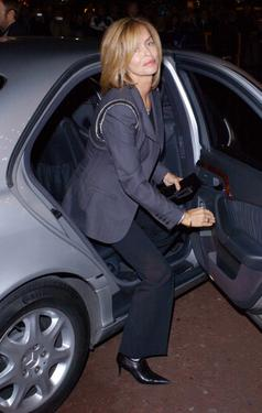 "Barbara Bach at the DVD screening of ""A Concert For George"" a tribute to the late George Harrison."