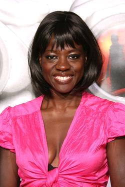 "Viola Davis at the premiere of ""Disturbia""."
