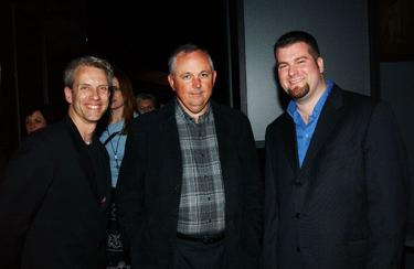 "Chris Sanders, Dick Cook and Dean DeBlois at the after party of the premiere of ""Bringing Down The House."""