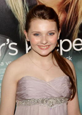 "Abigail Breslin at the New York premiere of ""My Sister's Keeper."""