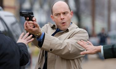 "Rob Corddry as Ron Fox in ""Harold and Kumar Escape from Guantanamo Bay."""