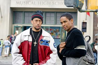 "Affion Crockett as A-Con and Damon Wayans Jr. as Thomas in ""Dance Flick."""