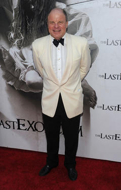 "Tony Bentley at the California premiere of ""The Last Exorcism."""