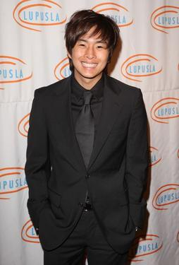 Justin Chon at the 9th Annual Lupus LA Orange Ball.