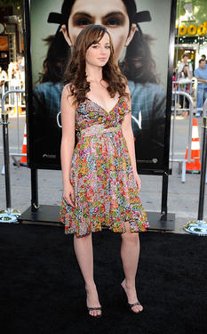 "Ashley Rickards at the California premiere of ""Orphan."""