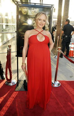 "Marley Shelton at the California premiere of ""A Perfect Getaway."""