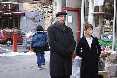 "Frank Langella as Leonard Schiller and Lili Taylor as Ariel Schiller in ""Starting Out in the Evening."""