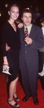 "Michael Wincott and date at the premiere of ""Alien Resurrection."""