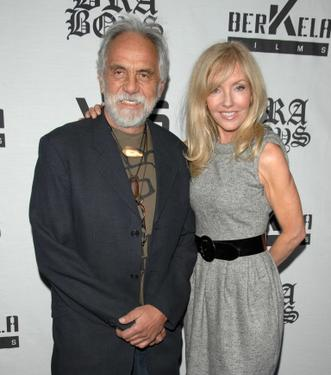 "Tommy Chong and Shelby Chong at the premiere of ""Bra Boys."""