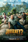 Poster for Journey 2: The Mysterious Island