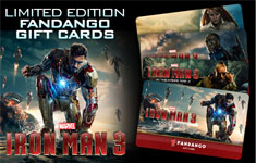 Iron Man 3 Gift Cards on Fandango