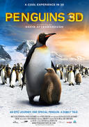 Poster art for Penguins 3D