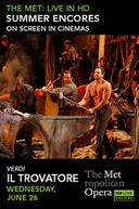 Poster for Il Trovatore Met Summer Encore
