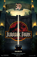 Poster for Jurassic Park 3D