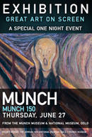 Poster for EXHIBITION: Munch 150