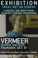 Poster for EXHIBITION: Vermeer and Music: The Art of Love and Leisure