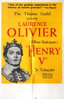 Poster for Henry V / Richard III