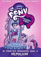 Poster for My Little Pony: Equestria Girls