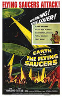 Poster for Earth vs. the Flying Saucers / First Men In The Moon