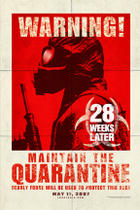 "Poster art for ""28 Weeks Later."""