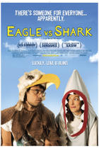 "Poster art for ""Eagle vs. Shark."""