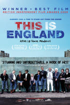 "Poster art for ""This Is England."""