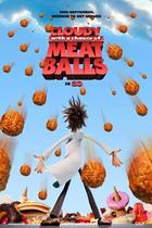 "Poster Art for ""Cloudy With a Chance of Meatballs."""