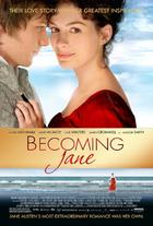 "Poster art for ""Becoming Jane."""