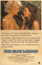 "Poster art for ""The Blue Lagoon."""