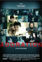 "Poster art for ""Adoration."""