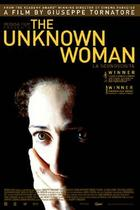 "Poster art for ""The Unknown Woman."""