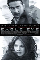 "Poster art for ""Eagle Eye."""
