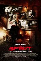 "Poster art for ""The Spirit."""