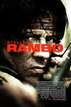 "Poster art for ""Rambo."""