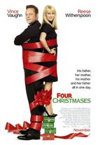 "Poster Art for ""Four Christmases."""