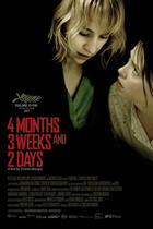 "Poster art for ""4 Months, 3 Weeks and 2 Days."""