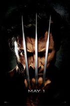 "Poster art for ""X-Men Origins: Wolverine."""