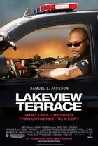 "Poster art for ""Lakeview Terrace."""