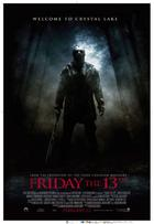 "Poster Art for ""Friday the 13th."""