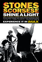 "Poster art for ""Shine a Light: The IMAX Experience."""