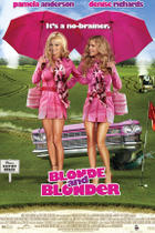 "Poster art for ""Blonde and Blonder."""