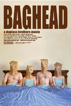 "Poster art for ""Baghead."""