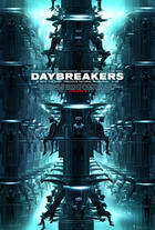 "Poster art for ""Daybreakers."""